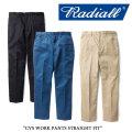 【RADIALL】(ラディアル)  CVS WORK PANTS STRAIGHT FIT 【送料無料】 【RADIALL パンツ】 【RAD-CVS-PT001】 【RADIALL 正規取
