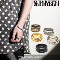 ZEPHYREN(ゼファレン) TRINITY METAL RING 【2018SUMMER先行予約】 【キャンセル不可】 【Z17PW03】