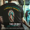 CRIMIE(クライミー) GUADALUPE V NECK POCKET SHORT SLEEVE T-SHIRT 【2018 SUMMER先行予約】 【キャンセル不可】 【C1H3-TE05】