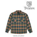 BRIXTON(ブリクストン) ARCHIE L/S FLANNEL 【2017AUTUMN/WINTER新作】 【即発送可能】【送料無料】 【BRIXTON ネルシャツ】