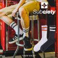 SUBCIETY(サブサエティ) CREW SOCKS 【2018SUMMER先行予約】 【キャンセル不可】 【106-80292】