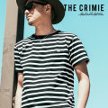 CRIMIE(クライミー) CS BORDER SHORT SLEEVE SHIRT 【2018AUTUMN/WINTER先行予約】 【キャンセル不可】【C1H5-CS04】