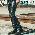 CRIMIE(クライミー) BORN FREE II LEATHER PANTS 【2018AUTUMN/WINTER先行予約】 【キャンセル不可】【C1H5-PT10】