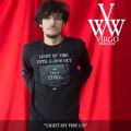 VIRGO(ヴァルゴ) LIGHT MY FIRE L/S 【2018SPRING/SUMMER 1st collection先行予約】 【キャンセル不可】 【VG-LSPT-50】
