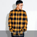 GRAVYSOURCE(グレイヴィーソース) BIG L/S SHIRTS 【2018HOLIDAY/SPRING先行予約】 【送料無料】【キャンセル不可】 【GS18-HSH0