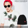 GRAVYSOURCE(グレイヴィーソース) KNIT CAP 【2018SUMMER/AUTUMN先行予約】 【キャンセル不可】 【GS18-NCP01】