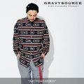 GRAVYSOURCE(グレイヴィーソース) NATIVE L/S SHIRTS 【2018SUMMER/AUTUMN先行予約】 【キャンセル不可】 【GS18-NSH03】