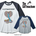 SOFTMACHINE(ソフトマシーン) SERPENT-RT (3/4 RAGLAN T-SHIRTS) 【2018SPRING/SUMMER新作】 【送料無料】【即発送可能】 【SOFT