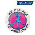 "RADIALL(ラディアル) KUSTOM STICKERS ""B"" CIRCLE OF LOVE 【2018 SPRING&SUMMER新作】 【RADIALL ステッカー】 【RAD-18SS-ACC1"