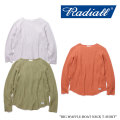 RADIALL(ラディアル) BIG WAFFLE-BOAT NECK T-SHIRT 【2018 SPRING&SUMMER新作】 【送料無料】【即発送可能】 【RADIALL シャツ
