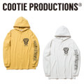 COOTIE(クーティー) Hooded Print L/S Tee (BLACK MASK) 【CTE-18S340】