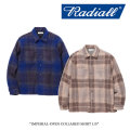 【SALE30%OFF】 RADIALL(ラディアル) IMPERIAL-OPEN COLLARED SHIRT L/S 【2017AUTUMN/WINTER新作】 【送料無料】【即発送可能】