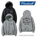 RADIALL(ラディアル) CHAPT HOOD ZIP UP PARKA 【2017A/W SPOT COLLECTION新作】 【送料無料】【即発送可能】 【RADIALL ジップ