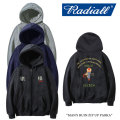 RADIALL(ラディアル) MAN'S RUIN ZIP UP PARKA 【2017A/W SPOT COLLECTION新作】 【送料無料】【即発送可能】 【RADIALL ジップ