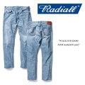 RADIALL(ラディアル) W.M.B.235B JEANS-SLIM washed(10 year) 【RADIALL USED加工 デニムパンツ】 【送料無料】 【RADIALL 正規