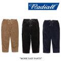RADIALL(ラディアル) MONK EASY PANTS 【2017AUTUMN/WINTER新作】 【送料無料】【即発送可能】 【RADIALL パンツ】 【RAD-17AW-