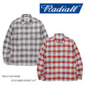 【SALE30%OFF】 RADIALL(ラディアル) RUG TOP OPEN COLLARED SHIRT L/S 【2017AUTUMN/WINTER新作】 【送料無料】【即発送可能】
