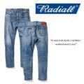 RADIALL(ラディアル) W.M.B.216B JEANS-TAPERED- washed denim(5 year) 【RADIALL USED加工 デニムパンツ】 【送料無料】 【RADI