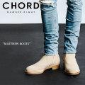 CHORD NUMBER EIGHT(コードナンバーエイト) MATTHEW BOOTS 【2018SPRING/SUMMER先行予約】 【キャンセル不可】 【CHORD ブーツ】