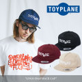 TOYPLANE(トイプレーン) LOGO SNAP BACK CAP 【2018SUMMER/FALL新作】 【TP18-NCP01】