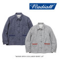 【SALE30%OFF】 RADIALL(ラディアル) MONK OPEN COLLARED SHIRT L/S 【2017AUTUMN/WINTER新作】 【送料無料】【即発送可能】 【