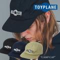 TOYPLANE(トイプレーン)  CAMP CAP 【2017AUTUMN/WINTER新作】 【即発送可能】 【TP17-FCP03】