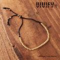 【2015 2nd EXHIBITION 先行予約】 VIVIFY(ヴィヴィファイ) Silk&Brass Crown Bracelet 【キャンセル不可】 【職人の完全手作業