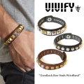 VIVIFY(ヴィヴィファイ) GoodLuck Row Studs WristBand 【2016 2nd EXHIBITION 先行予約】 【キャンセル不可】 【職人の完全手