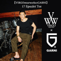 VIRGO(ヴァルゴ) 【VIRGOwearworks×GARNI】17 Epaulet Tee 【即発送可能】 【VG-CB-66】