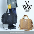 VIRGO(ヴァルゴ) Military quilting boston bag 【2017AUTUMN/WINTER新作】 【送料無料】【即発送可能】 【VG-GD-510】