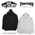 【VANS(バンズ)】 VANS X THRASHER PO 【VANS×THRASHER コラボ】 【即発送可能】 【VN0A36KZWHT】