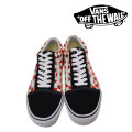 【VANS(バンズ)】 OLD SKOOL (CHECKERBOARD) BLACK/RED 【即発送可能】 【VANS スニーカー】 【VN0A38G135U】