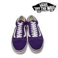 【VANS(バンズ)】 OLD SKOOL PETUNIA/TRUE WHITE 【即発送可能】 【VANS スニーカー】 【VN0A38G1QA1】