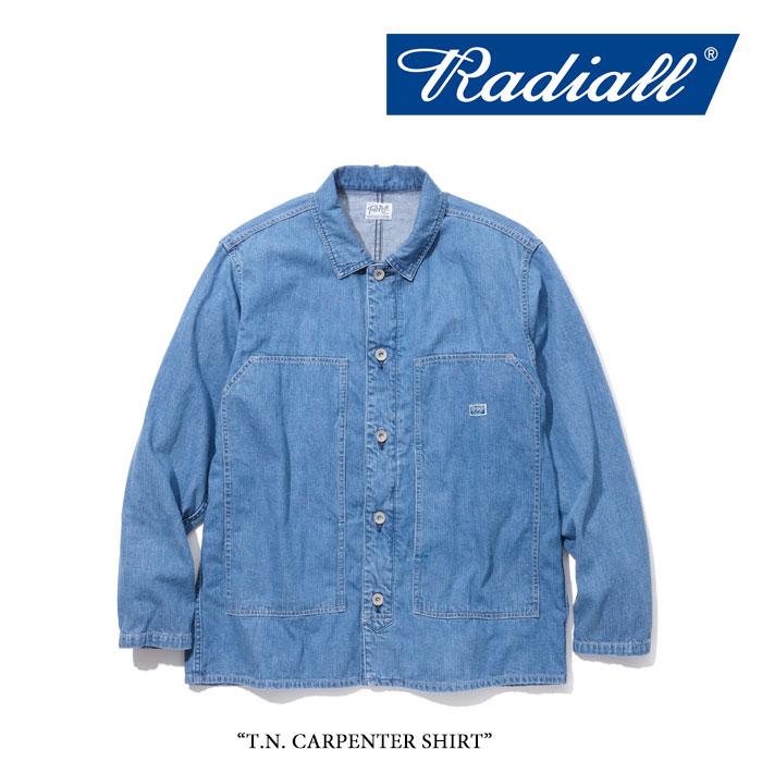 【SALE】 RADIALL(ラディアル) T.N. CARPENTER SHIRT 【2018 SPRING&SUMMER新作】 【送料無料】【即発送可能】 【RADIALL シャ