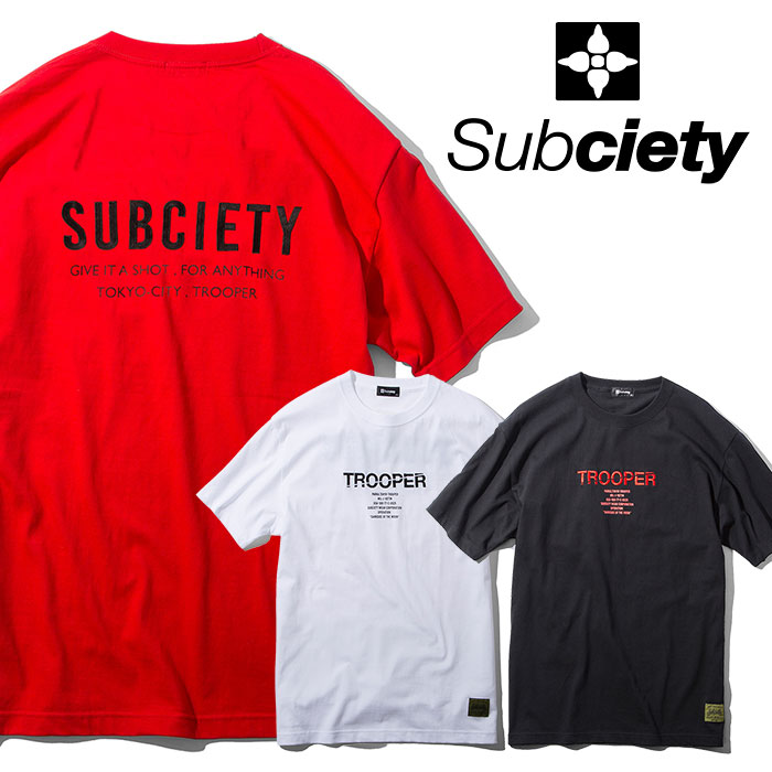 SUBCIETY(サブサエティ) TROOPER S/S 【2019SPRING先行予約】 【キャンセル不可】【108-40377】