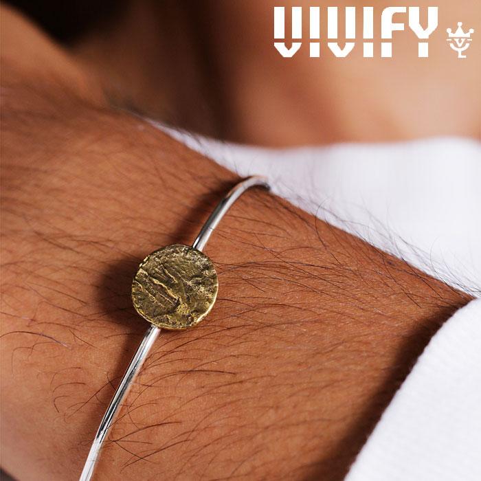 VIVIFY(ヴィヴィファイ)(ビビファイ) Ancient Coin Bangle (Brass) 【VIVIFY バングル】【VFB-166】【メンズ レディース 】【オー