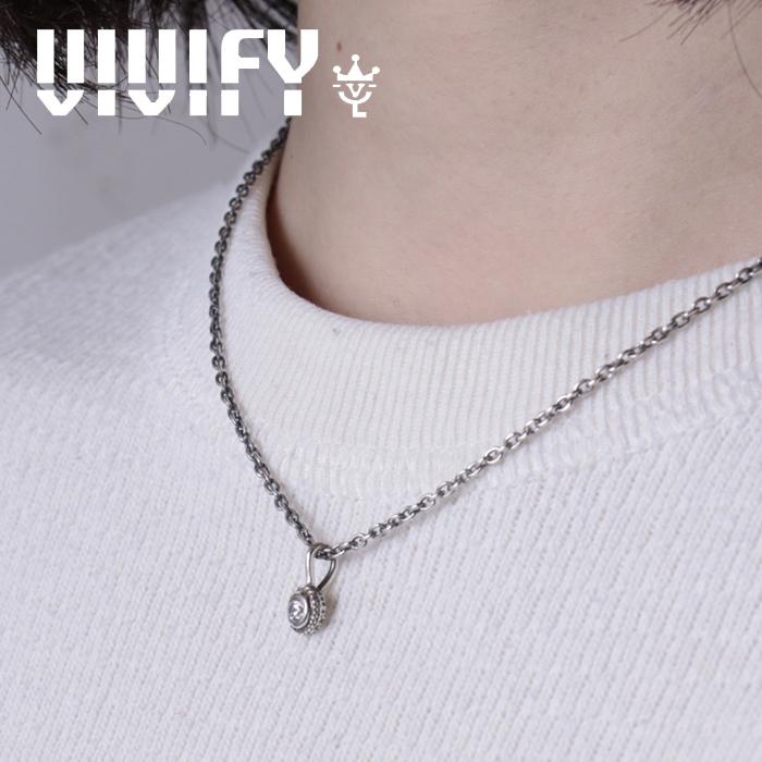VIVIFY(ヴィヴィファイ)(ビビファイ) One Charm 【VIVIFY ネックレス】【VFNL-004】【オーダーメイド ハンドメイド 受注生産】【キ