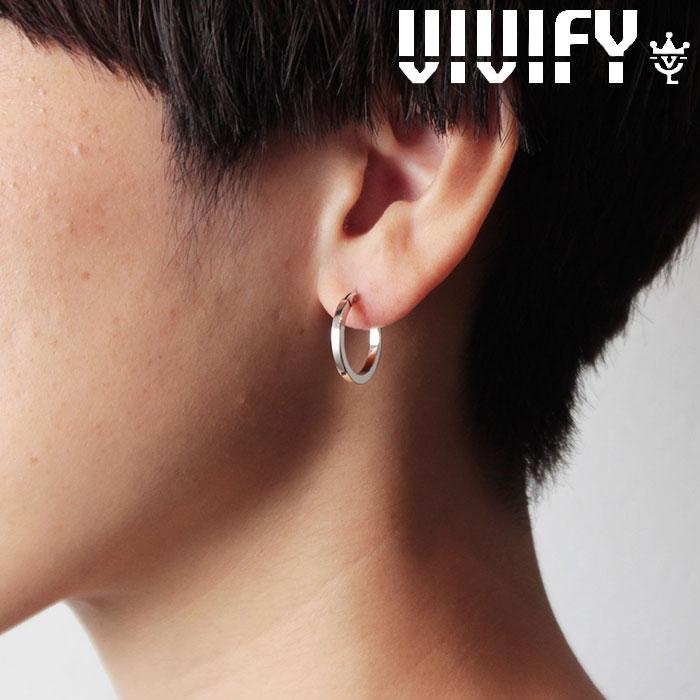 VIVIFY(ヴィヴィファイ)(ビビファイ) SquareLine Hoop Pierce 【VIVIFY ピアス】【VFP-245】【オーダーメイド 受注生産】【キャン
