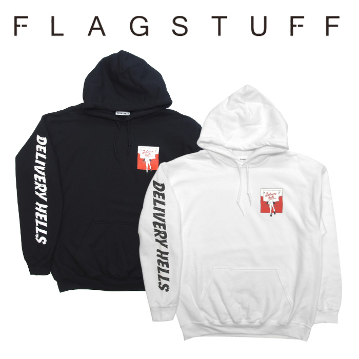 "F-LAGSTUF-F(フラグスタフ) ""Turn Round"" HOODIE 【2018 AUTUMN&WINTER COLLECTION】 【F-LAGSTUF-F】 【フラグスタフ】【フラッ"
