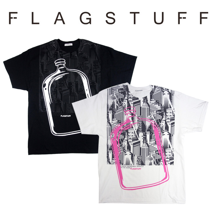 F-LAGSTUF-F(フラグスタフ) Bottled City Tee 2 【2018 AUTUMN&WINTER COLLECTION】 【F-LAGSTUF-F】 【フラグスタフ】【フラッ