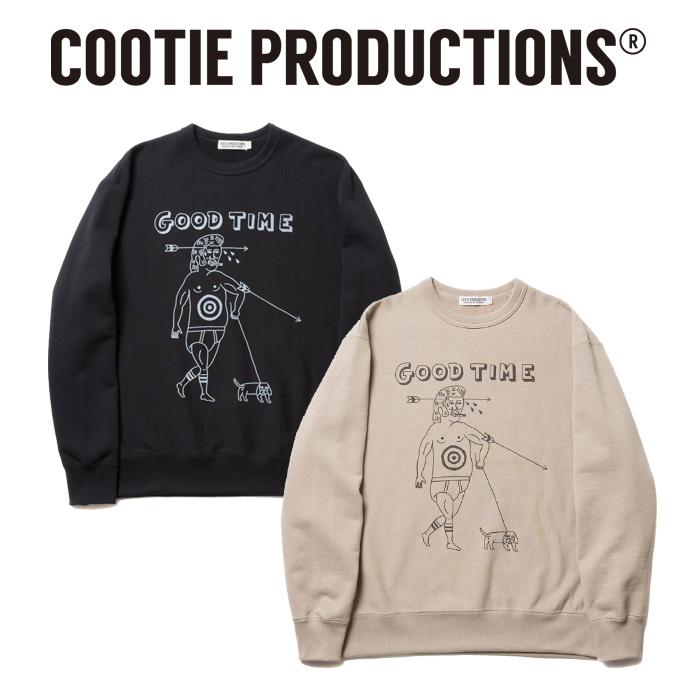 COOTIE(クーティー)  Print Crewneck Sweatshirt-3