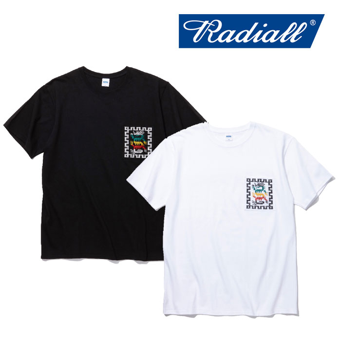 RADIALL(ラディアル) COSMIC GIPSY CREW NECK POCKET T-SHIRT 【2018 SPRING&SUMMER新作】 【RADIALL Tシャツ】 【RAD-18SS-TEE0