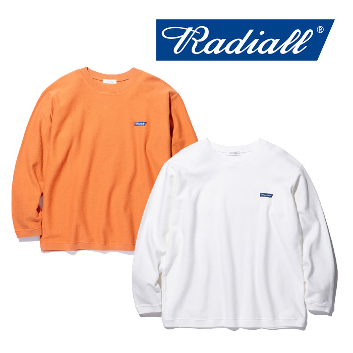 RADIALL(ラディアル) SLOW BURN-CREW NECK SWEAT SHIRT 【2018 AUTUMN & WINTER COLLECTION】 【RAD-18AW-CUT008】