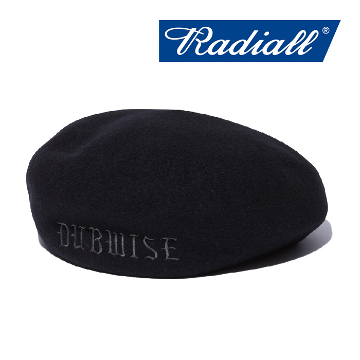 RADIALL(ラディアル) TONE - BERET 【2018 AUTUMN & WINTER SPOT COLLECTION】 【RAD-18AW-HAT001】