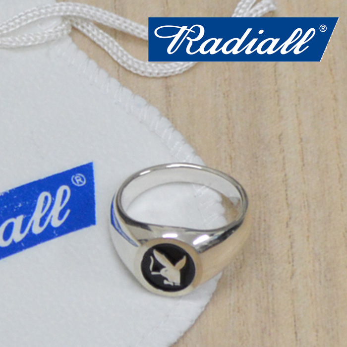 RADIALL(ラディアル) HEF-RING(SILVER) 【2018 AUTUMN & WINTER COLLECTION】 【RAD-JWL007-01】