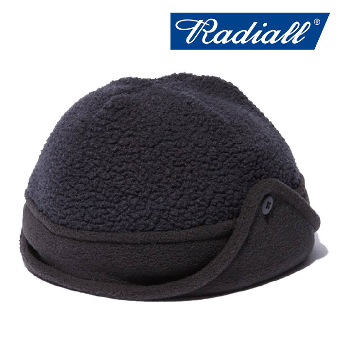 【SALE30%OFF】 RADIALL(ラディアル) SMOKEY CAMPER - FLEECE CAP 【2018 AUTUMN & WINTER COLLECTION】 【RAD-18AW-HAT008】【