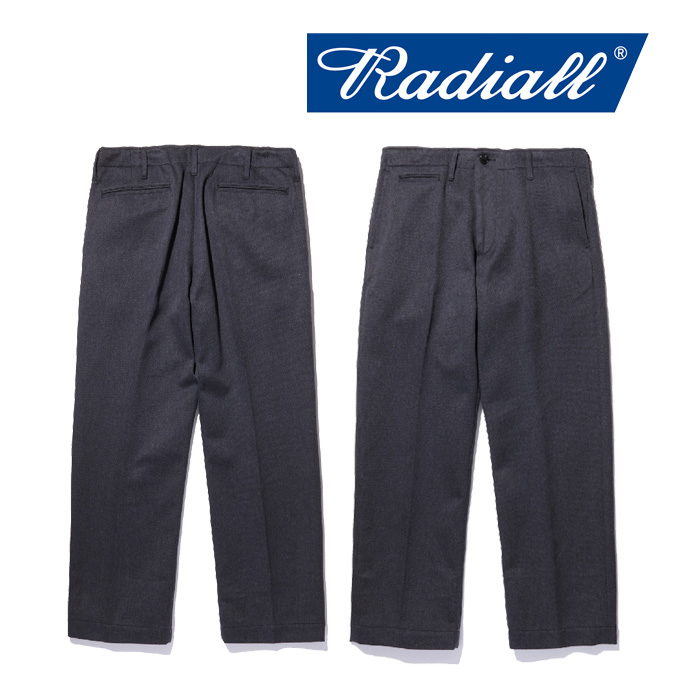 【SALE30%OFF】 RADIALL(ラディアル) MONTE CARLO - WIDE FIT TROUSERS 【2018 AUTUMN & WINTER COLLECTION】 【RAD-18AW-PT007