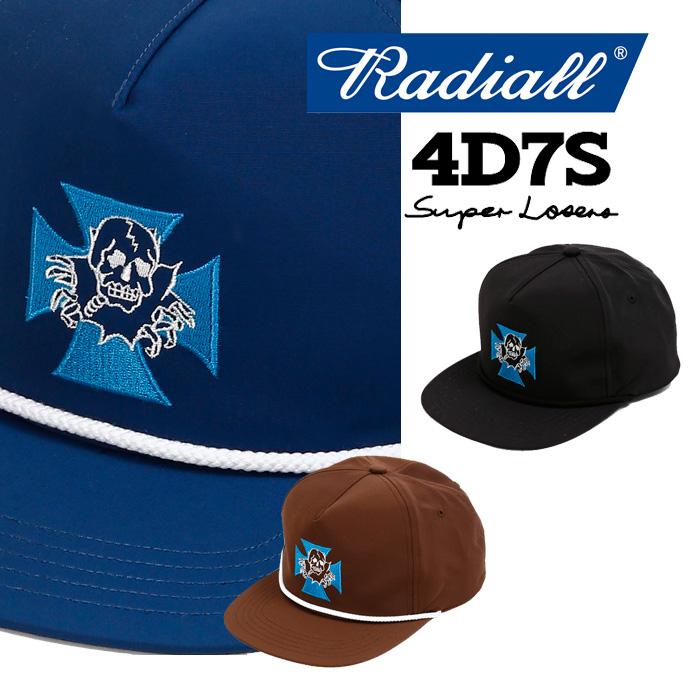 【SALE20%OFF】 RADIALL(ラディアル) 4D7S-TRUCKER CAP 【2018 AUTUMN & WINTER SPOT COLLECTION】 【RAD-18AW-SPOT-JW003】