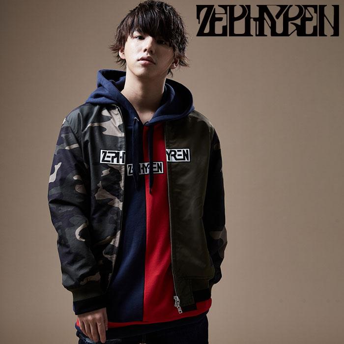 ZEPHYREN(ゼファレン) NAYRON JKT 【スタジャン】【Z20PA05】 【2020SPRING&SUMMER先行予約】【キャンセル不可】