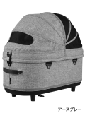 エアバキーフォードッグ ドーム3 コット単品L アースグレー